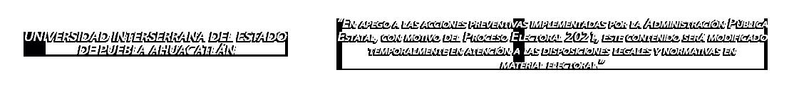 Universidad Interserrana del Estado de Puebla Ahuacatlán Logo